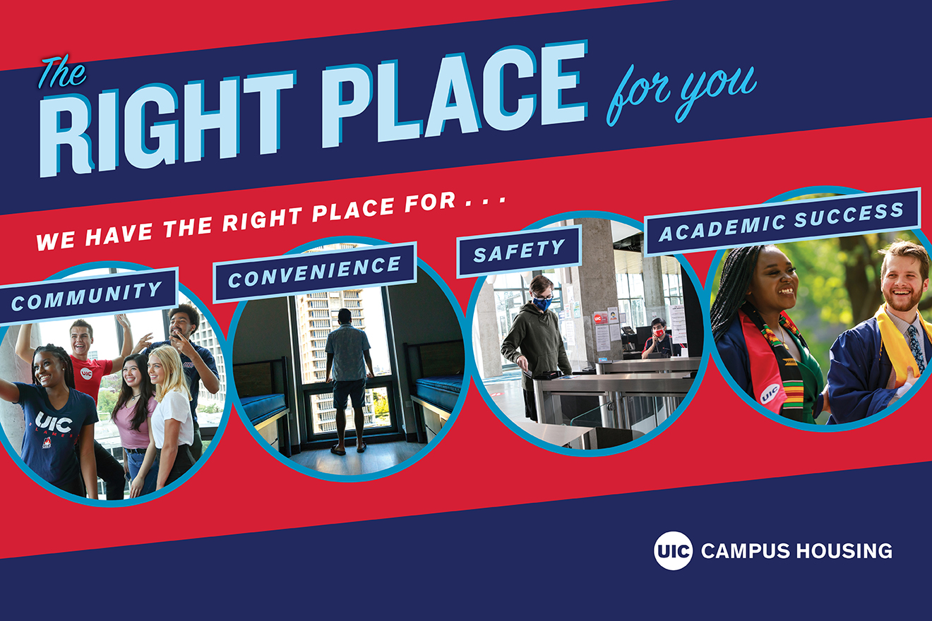 The Right Place for You – Live on Campus
