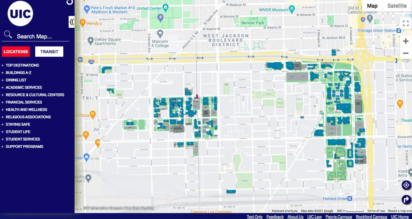 UIC launches new interactive campus map