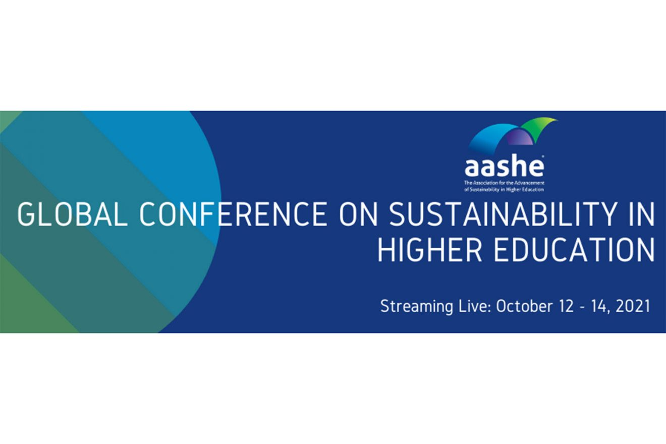 AASHE Global Conference on Sustainability in Higher Education