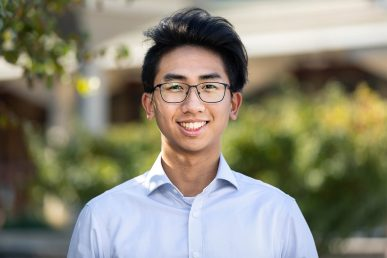 Jason Mei, a second-year finance major in the College of Busines